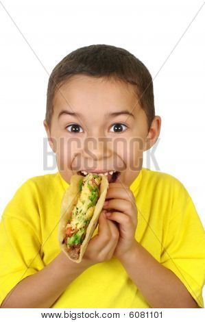 Kid With A Taco