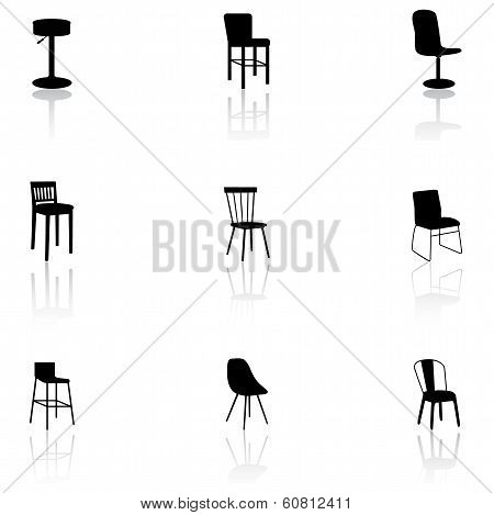 Furniture Icons - Chairs