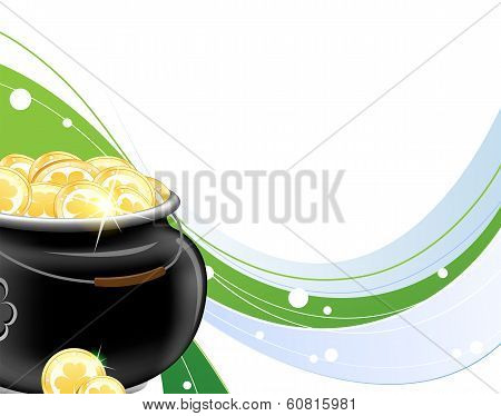Pot With Gold Coins