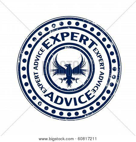 Expert Advice Stamp
