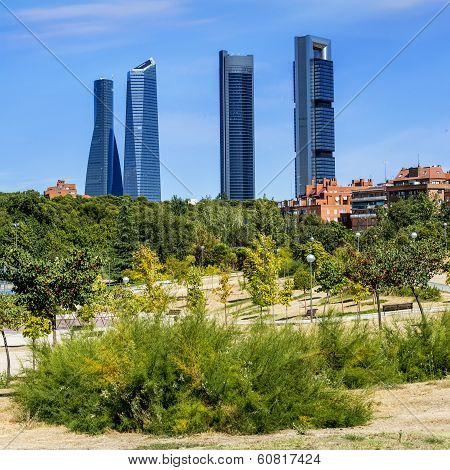 Four Modern Skyscrapers