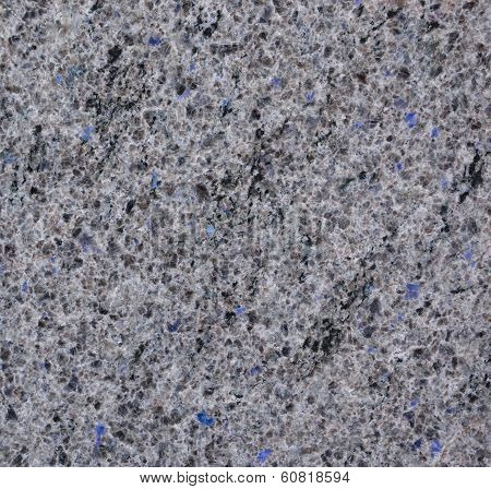 Marble With Ultramarine Impregnations