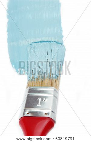 paint brush and paint color