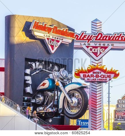 Harley Davidson Cafe In The Strip