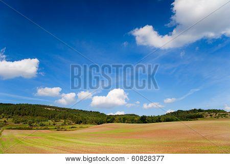Landscape in Thuringia