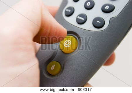 Pressing The @ Button