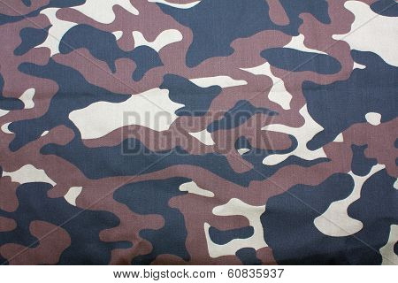 A Camouflage Fabric Background