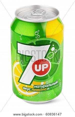 Aluminum Can Of 7Up