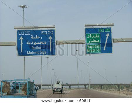 Flughafen von Bagdad