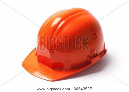 Protective Hardhat - Stock Image