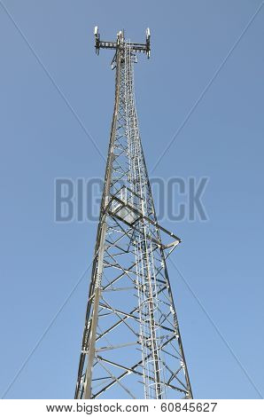 Telecommunication cell phone tower