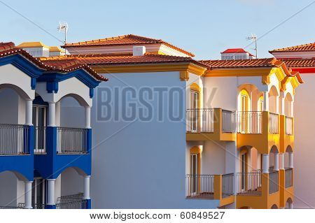 Part Of Residential House In Construction At Algarve, Portugal