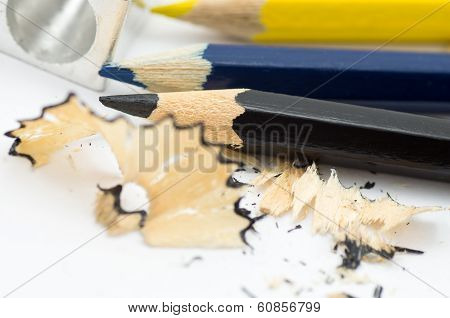 Sharpening and pencils