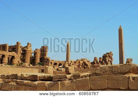 Ancient Egyptian Karnak Temple