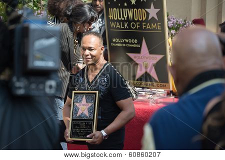 Ray Parker Jr Honored  On The Hollywood Walk Of Fame