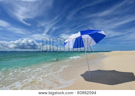 The beache