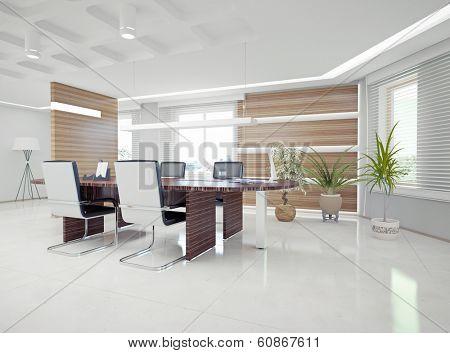 modern office interior. design concept