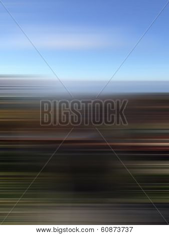 Horizon Abstract Background