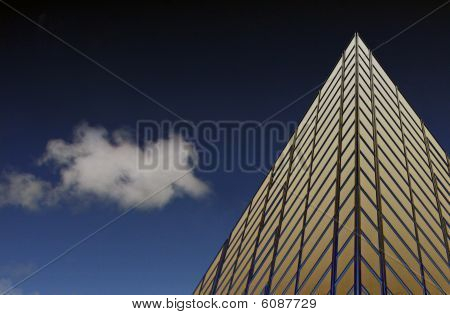 City office tower block building