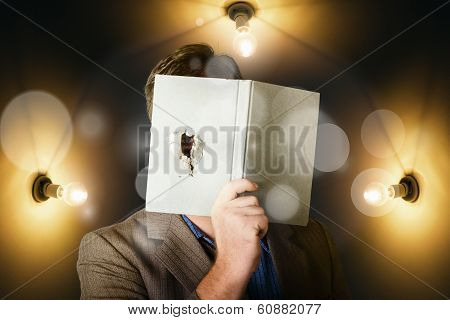 Business Man Spying And Tracking Market Research