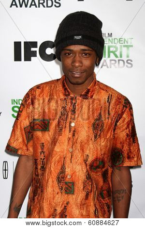 LOS ANGELES - JAN 11: Keith Stanfield at the 2014 Film Independent Spirit Awards Nominee Brunch at Boa on January 11, 2014 in West Hollywood, CA