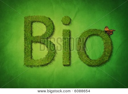 Bio on green
