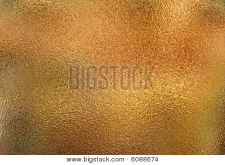 Rough gold metal