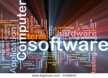 Paquete de la caja de software Word Cloud