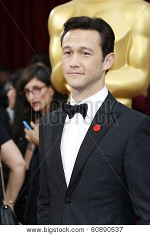 LOS ANGELES - MAR 2:  Joseph Gordon-Levitt at the 86th Academy Awards at Dolby Theater, Hollywood & Highland on March 2, 2014 in Los Angeles, CA