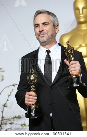 LOS ANGELES - MAR 2:  Alfonso Cuaron at the 86th Academy Awards at Dolby Theater, Hollywood & Highland on March 2, 2014 in Los Angeles, CA