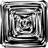 foto of hypnotizing  - Black and White Hypnotic Background - JPG