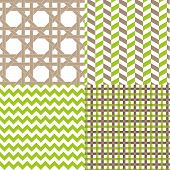 4-patterns-chevron-plaid-lattice