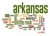 Arkansas Word Cloud