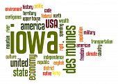 Iowa Word Cloud