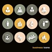 Vector Design Flat Icons For Web And Business