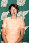LOS ANGELES - FEB 28:  Shailene Woodley at the 2014 Publicist Luncheon at Beverly Wilshire Hotel on