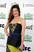 LOS ANGELES - MAR 1:  Kathryn Hahn at the Film Independent Spirit Awards at Tent on the Beach on Mar