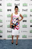LOS ANGELES - MAR 1:  Melonie Diaz at the Film Independent Spirit Awards at Tent on the Beach on Mar