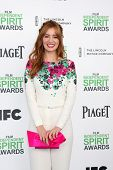 LOS ANGELES - MAR 1:  Ahna O'Reilly at the Film Independent Spirit Awards at Tent on the Beach on Ma