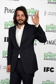 LOS ANGELES - MAR 1:  Diego Luna at the Film Independent Spirit Awards at Tent on the Beach on March