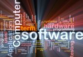 Pacote de caixa do software Word Cloud