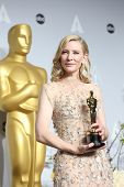 LOS ANGELES - MAR 2:  Cate Blanchett at the 86th Academy Awards at Dolby Theater, Hollywood & Highla