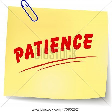 Patience Message