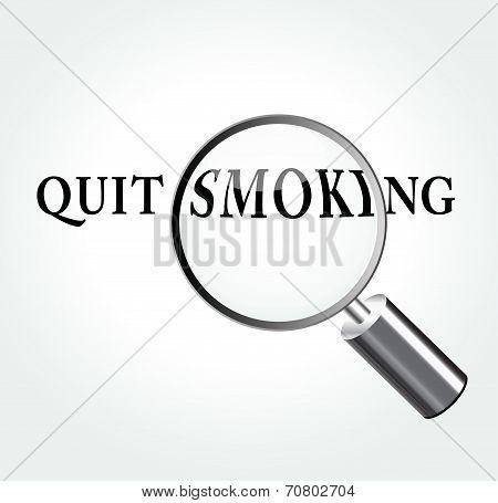 Quit Smoking Concept Illustration