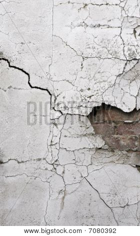 Old Cracked Wall Background 2