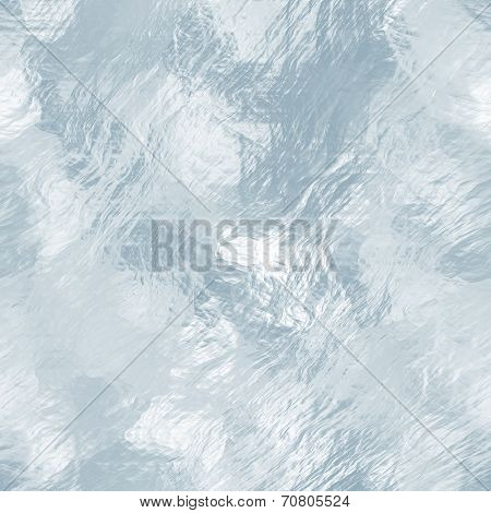 Seamless ice texture, winter background