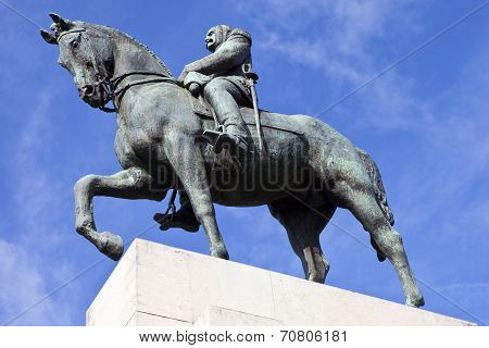 Marshal Ferdinand Foch Statue In Paris
