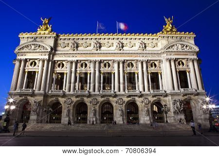 Palais Garnier In Paris
