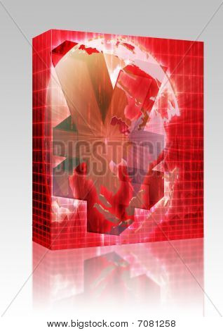 Japanese Yen Map Box Package