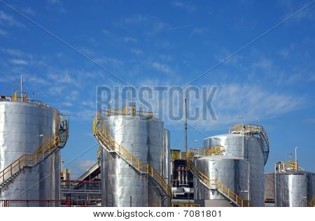 petro-chemical factory